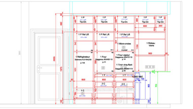 Bespoke kitchen plan
